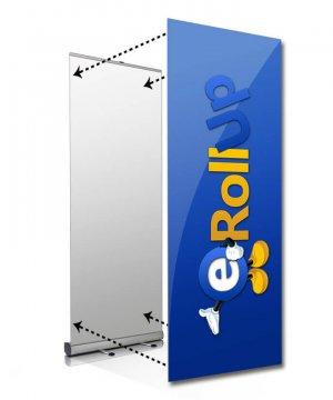 Byte av bildvåd bildbyte rollup small Bildbyte Rollup Small upp till 85 cm ny bild till ditt system bildbyte rollup 85 300x360