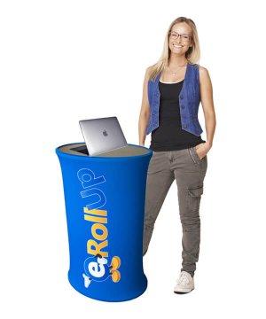 podium Podium Fabric är en mässdisk i tyg som är lätt att transportera podium fabric ny 300x360